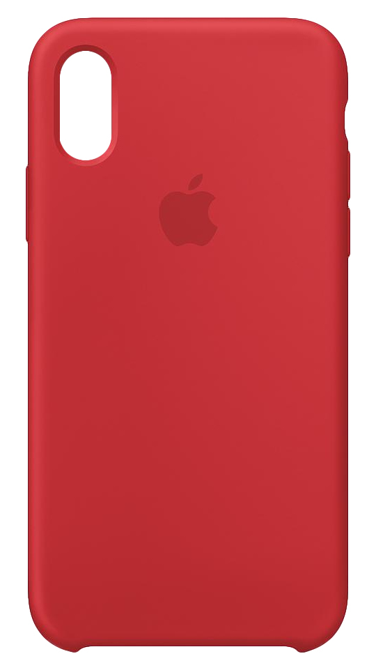 half off 14006 3f709 Apple Silicone Case (Product)Red for iPhone XS