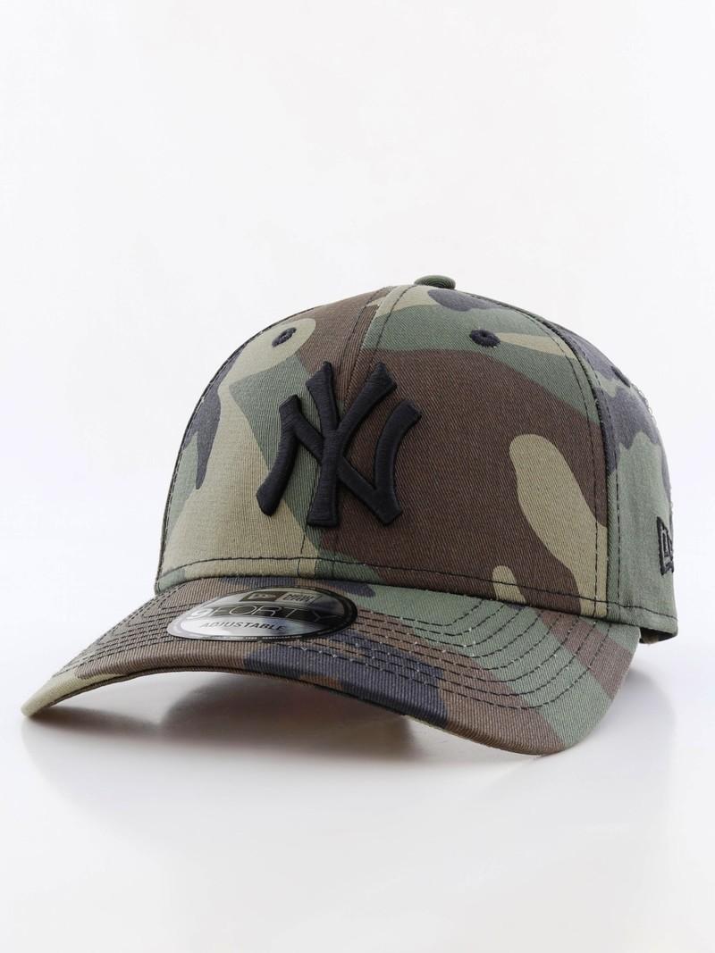 3e0f52246a5 New Era League Essential NY Yankees Woodland Camo Cap