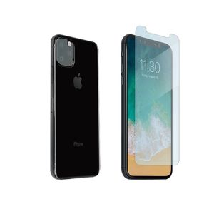 Muvit Bundle Tempered Glass Flat + Protection Camera for iPhone 11 Pro