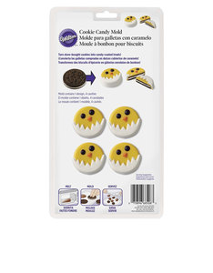 Wilton Easter Hatching Chick Cookie Candy Mold [Pack of 4]