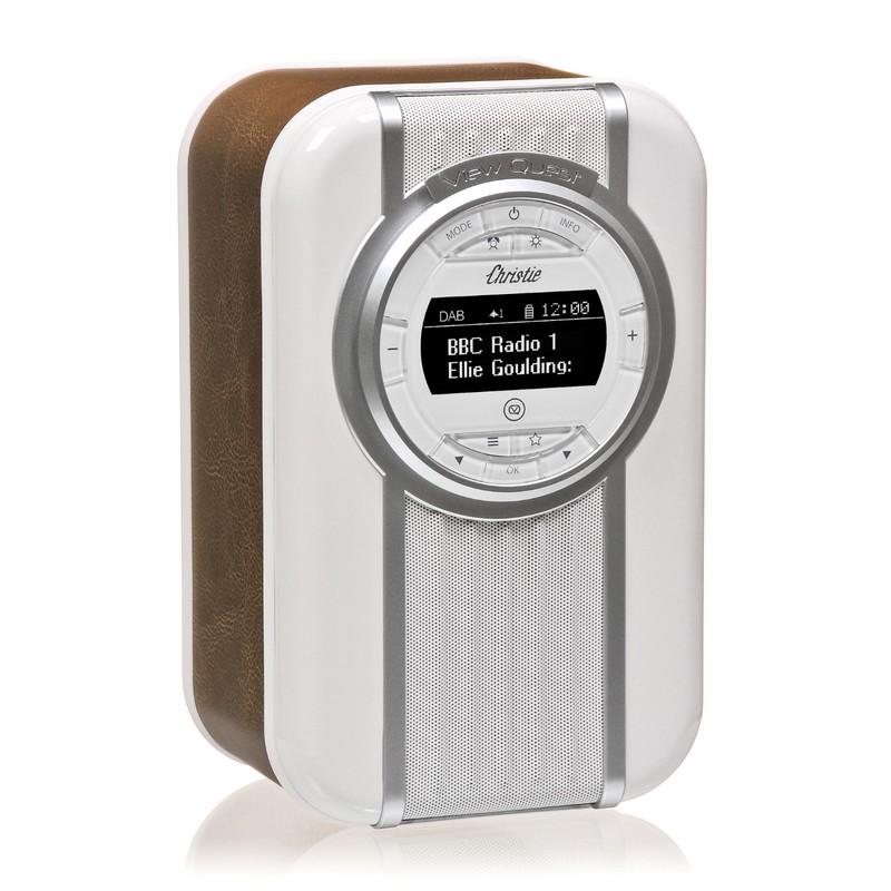 VQ Christie Brown DAB Digital Radio with Bluetooth