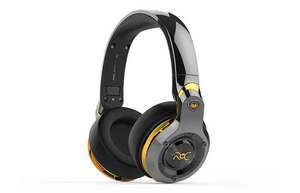 Monster Roc Black Platinum Over-Ear Headphones