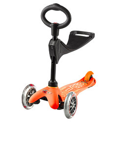 Micro Mini 3in1 Deluxe Orange Scooter