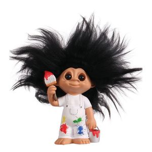 Good Luck Troll Painter Statue [9 cm]