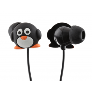 My Doodles Pengiun In-Ear Earphones