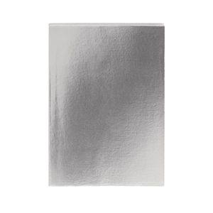 Colourblock Metallic Pewter A5 Notebook