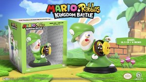 Mario + Rabbids: Kingdom Battle - Rabbid Luigi / Lapin Luigi: 6 Inches Figurine