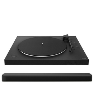 Sony PS-LX310BT Bluetooth Turntable + Sony HTX8500 Soundbar Speaker [Bundle]