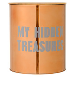 Bloomingville My Hidden Treasures Canister with Bamboo Lid