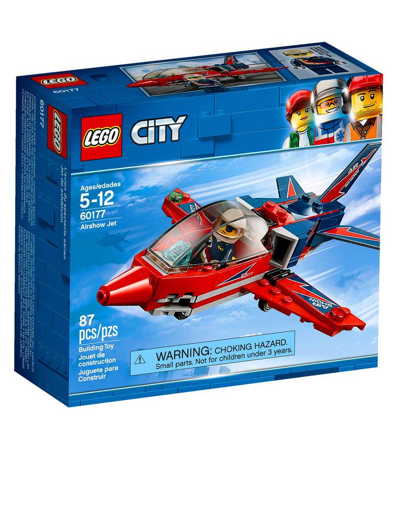 Lego Airshow Jet 60177 Building Blocks Science Engineering Classic 10709 Orange Creativity Box