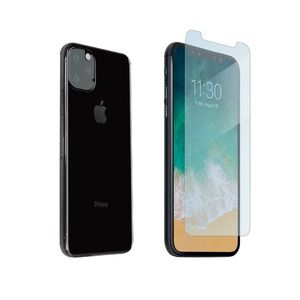 Muvit Bundle Tempered Glass Flat + Protection Camera for iPhone 11 Pro Max