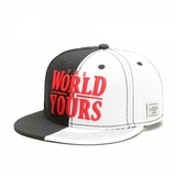 Cayler & Sons Wl The World Is Yours Cap Black/Whit/Red Mens