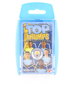 TOP TRUMPS MANCHESTER CITY FC 2016/17 CARD GAME ENGLISH & ARABIC