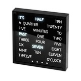 Balvi Table Clock Words
