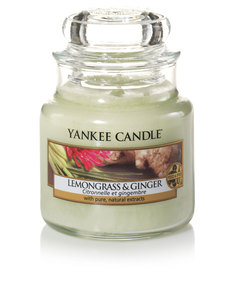 Yankee Candle Classic Jar Small Lemongrass & Ginger