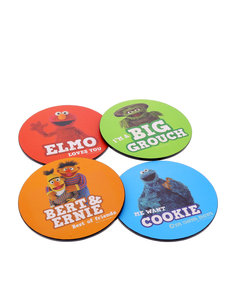 Sesame Street Round Coasters [Set of 4]