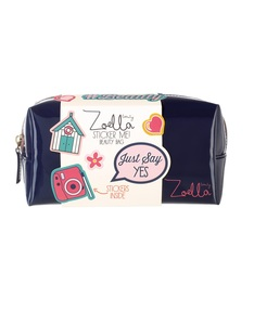 ZOELLA STICKER ME BEAUTY BAG