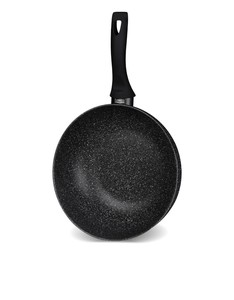 Rossetti Super Wok Coves Induction Black [28 cm]