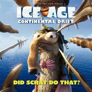 Ice Age Continental Drift Did Scrat Do That