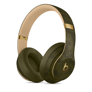 Beats Studio3 Beats Camo Collection Forest Green Wireless Headphones