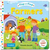 Flip and Find Farmers: A Guess Who/Where Flap Book About Farmers and Their Animals
