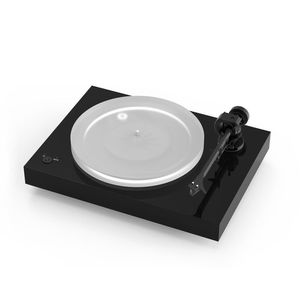 Pro-jext X2 Turntable 2M Silver Needle Piano Black