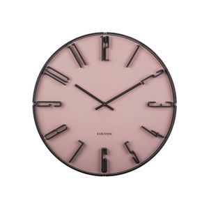 Karlsson Wall Clock Sentient Faded Pink