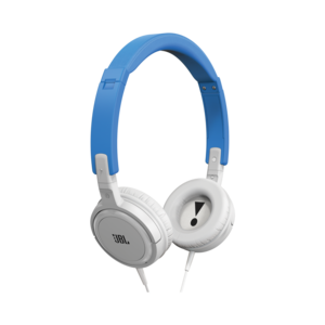 Jbl T300A Purebass Blue/White Headphones