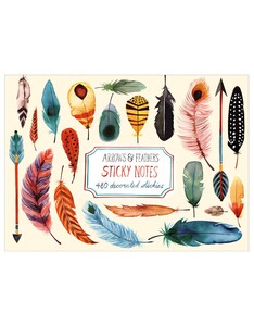 Galison Arrows & Feathers Sticky Notes
