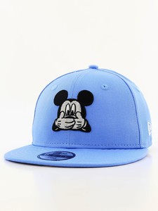 New Era Disney Expression Mickey Mouse Flat Brim Youth Boys Cap Sky Blue a9ab7c24828f