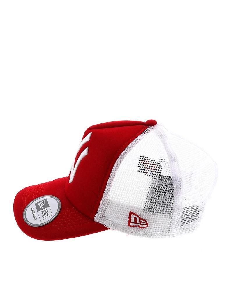 4ec08c071f6 New Era Mlb Clean Trucker Ny Yankee Scarlet White 7 7 8 Cap