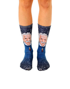 Living Royal Einstein Unisex Crew Socks