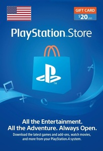 PlayStation Network Topup Wallet 20 USD