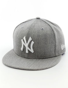 New Era League Basic NY Yankees Grey Cap
