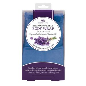 Aroma Home Blue Body Wrap Pin Cord In Sleeve