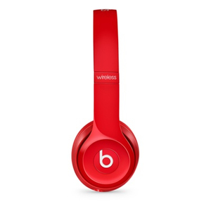 Beats Solo 2 Wireless Red On-Ear Headphones