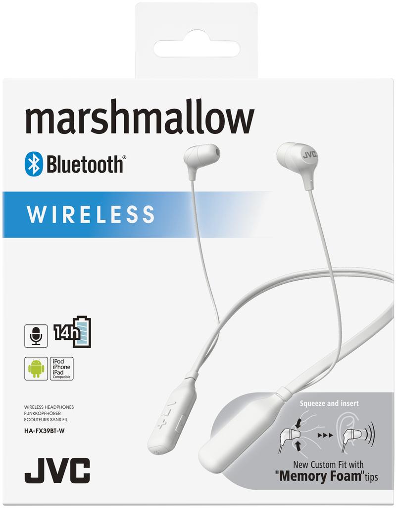 ... JVC HA-FX39 Marshallow White Bluetooth In-Ear Earphones ... c3046142b0