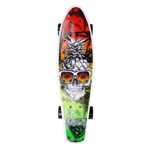 Maui and Sons Printed PU Kicktail in Sweet Life Skateboard