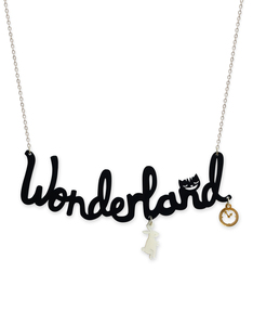 Little Moose Alice In Wonderland Wonderland 'Text' Necklace