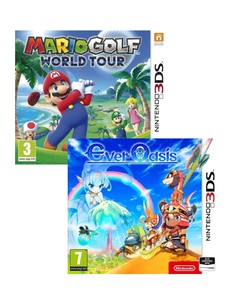 Mario Golf World Tour + Ever Oasis [Bundle]