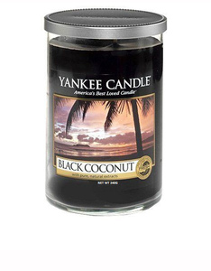 Yankee Candle Decor Medium Pillar Black Coconut