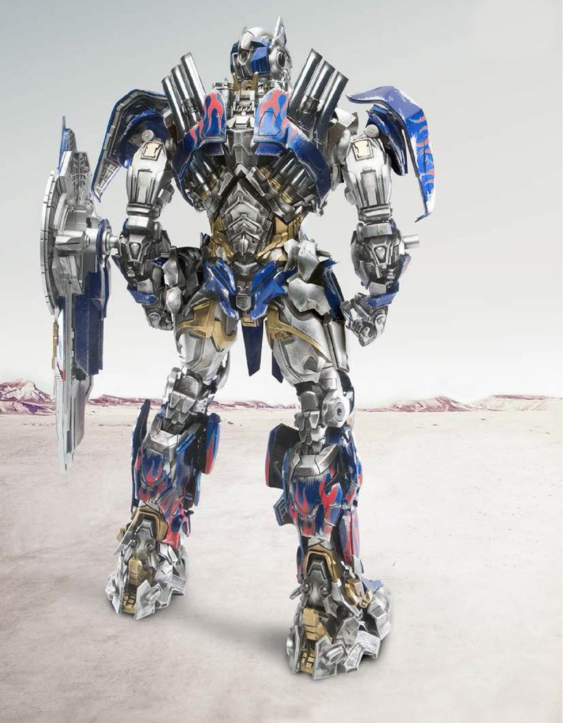 Optimus prime comicave review