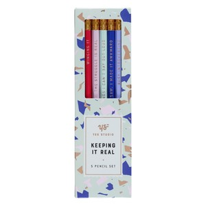 Yes Studio Keeping It Real Set Hb Pencils [Set of 5]