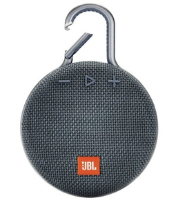 JBL Clip 3 Blue Portable Bluetooth Speaker
