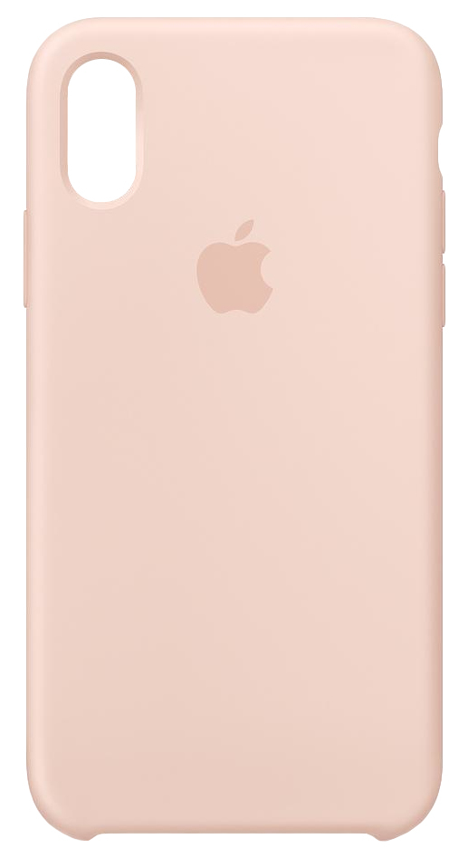 new product c34c4 8fd94 Apple Silicone Case Pink Sand for iPhone XS