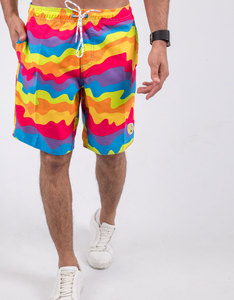 Neff Whatever Multi-Color Hot-Tub Shorts