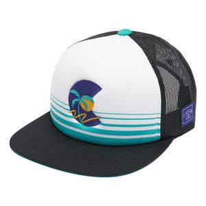 Wl C Vibes Men's Foam Trucker Cap Black/MC