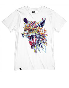 Dedicated Color Fox White T-Shirt