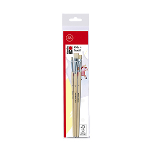 Marabu Basic + School Brush Set