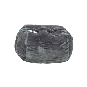 Ariika Kids Sac Grey Fur Bean Bag